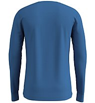 Odlo SUW Natural 100% Merino Warm - maglietta tecnica - uomo, Light Blue