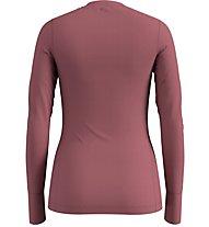 Odlo SUW Natural 100% Merino Warm - maglietta tecnica - donna, Rose