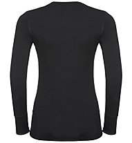 Odlo 100% MERINO WARM - Funktionsshirt - Damen, Black