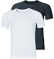 Odlo Active Cubic Light - 2er Pack - Herren, Black/White