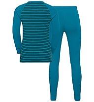 Odlo Active Warm Eco Kids - Komplet Sportunterwäsche - Kinder, Blue