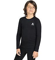 Odlo Active Warm Eco Kids Baselayer - maglia manice lunghe - bambino, Black