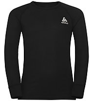 Odlo Active Warm Eco Kids Baselayer - Langarmshirt - Kinder, Black