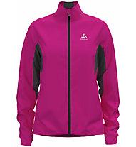 Odlo Aeolus Element Warm - Langlaufjacke - Damen, Pink/Black