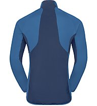 Odlo Aeolus Element Warm - Langlaufjacke - Herren, Light Blue