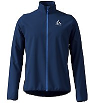 Odlo Aeolus Element Warm - giacca sci di fondo - uomo, Dark Blue