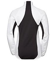 Odlo Aeolus Element Warm - Langlaufjacke - Damen, White/Black