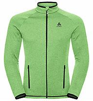 Odlo Midlayer Full Zip Proita - Fleecejacke Bergsport - Herren, Light Green/Black