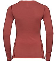 Odlo Alliance BL - Trekkingshirt Langarm - Damen, Red