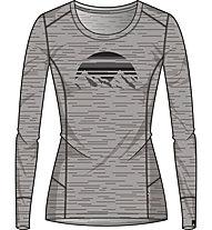 Odlo Alliance BL - Trekkingshirt Langarm - Damen, Grey