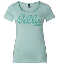 Odlo Alloy Logo - T-Shirt - Damen, Peacoat Melange