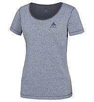 Odlo Alloy - T-shirt trekking - donna, Blue Melange