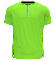Odlo Axalp Trail 1/2 Zip - Trailrunningshirt - Herren, Light Green
