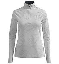 Odlo Birdy Ceramiwarm Midlayer 1/2 Zip - Fleecepullover - Damen, White