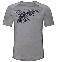 Odlo Concord Bl Crew Neck - T-shirt - uomo, Grey