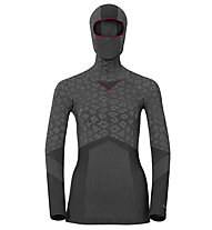 Odlo Maglia intima con facemask Blackcomb Evolution Warm, Black