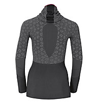 Odlo Blackcomb Evolution Warm langärmliges Damen-Funktionsshirt mit Facemask, Black