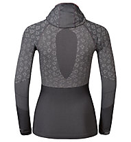 Odlo Blackcomb Evolution Warm langärmliges Damen-Funktionsshirt mit Facemask, Odlo concrete Grey/Black