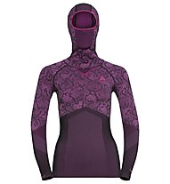 Odlo Blackcomb Evolution Warm - Funktionsshirt Langarm - Damen, Black/Pink