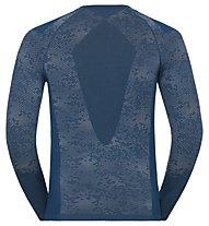 Odlo Blackcomb Evolution Warm - maglia tecnica - uomo, Blue Opal