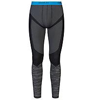 Odlo Blackcomb Evolution Warm Pants, Concrete Grey/Black/Blue