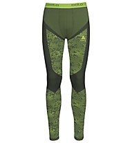 Odlo Blackcomb Evolution Warm - Unterhose lang - Herren, Graphite/Green