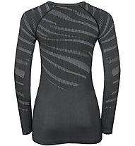 Odlo Blackcomb Suw - maglietta tecnica - donna, Grey