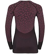 Odlo Blackcomb Suw - maglietta tecnica - donna, Dark Red