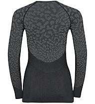 Odlo Blackcomb Suw - maglietta tecnica - donna, Grey/Dark Grey