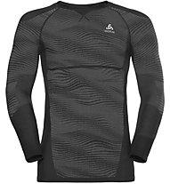 Odlo Blackcomb Top Cn Ls - maglietta tecnica - uomo, Grey