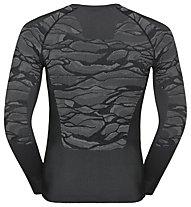 Odlo Blackcomb Top Cn Ls - maglietta tecnica - uomo, Grey/Dark Grey