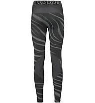Odlo Blackcomb Suw Bottom Pants - Funktionsunterhose Lang - Damen, Grey
