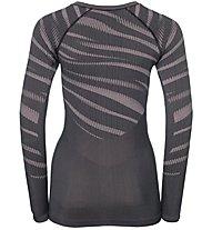 Odlo Blackcomb Suw - maglietta tecnica - donna, Grey/Rose