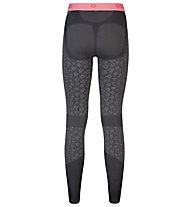 Odlo Blackcomb Evolution Warm - Unterhose Lang - Damen, Odlo concrete grey/Black
