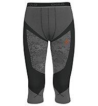 Odlo Blackcomp Evolution Warm - Unterhose Lang - Herren, Black/Concrete