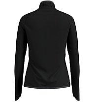 Odlo Carve Ceramiwarm Midlayer 1/2 Zip - Fleecepullover - Damen, Black