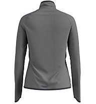 Odlo Carve Ceramiwarm Midlayer 1/2 Zip - Fleecepullover - Damen, Grey