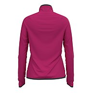 Odlo Carve Ceramiwarm Midlayer 1/2 Zip - Fleecepullover - Damen, Pink