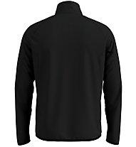 Odlo Carve Ceramiwarm Midlayer 1/2 Zip - Fleecepullover - Herren, Black