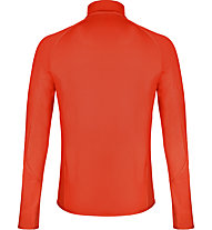 Odlo Carve Ceramiwarm Midlayer 1/2 Zip - Fleecepullover - Herren, Red