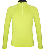 Odlo Carve Ceramiwarm Midlayer 1/2 Zip - Fleecepullover - Herren, Yellow