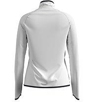 Odlo Carve Ceramiwarm Midlayer 1/2 Zip - Fleecepullover - Damen, White
