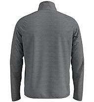 Odlo Carve Ceramiwarm Midlayer 1/2 Zip - Fleecepullover - Herren, Grey