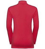 Odlo Carve Kids Warm - maglia in pile - bambino, Red