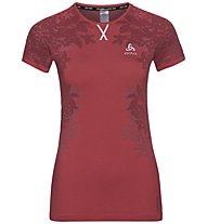 Odlo Ceramicool Blackcomb Pro - Laufshirt kurz - Damen, Red
