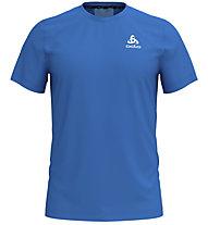 Odlo Ceramicool Element BL Top Crew Neck - Laufshirt kurz - Herren, Blue