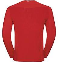 Odlo Ceramicool Pro - langärmliges Trekking-Shirt - Herren, Red