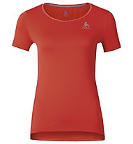 Odlo Clio Running-Shirt Damen, Cherry Tomato