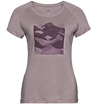 Odlo Concord Bl Top Crew Neck - T-Shirt Wandern - Damen, Violet
