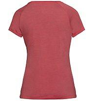 Odlo Concord Bl Top Crew Neck - T-Shirt Wandern - Damen, Red